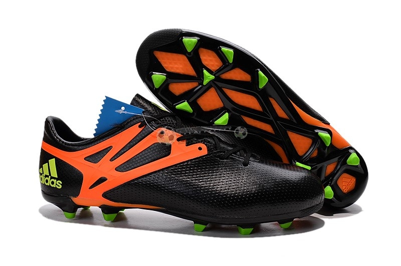 Adidas Messi 15.3 FG Noir Orange