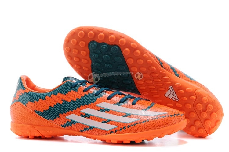Adidas Messi F50 TF Orange Bleu Rouge