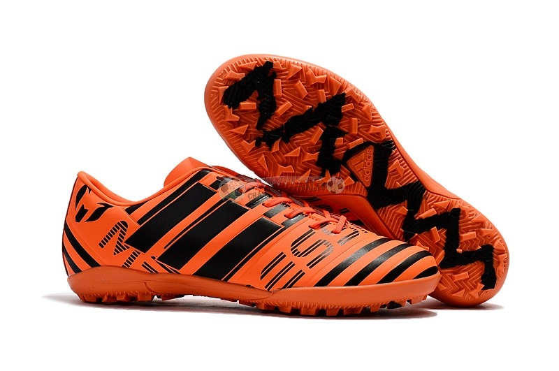 Adidas Nemeziz 17.1 TF Orange Noir
