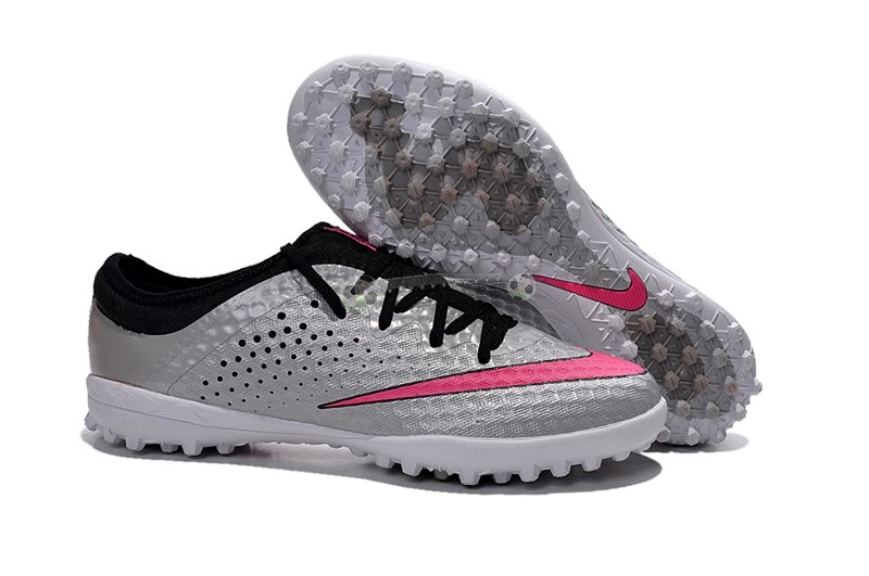 Nike Elastico Finale III TF Argent Rouge