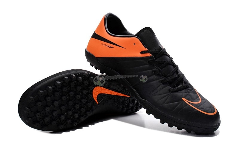 Nike HyperVenom Phelon II TF Noir Orange
