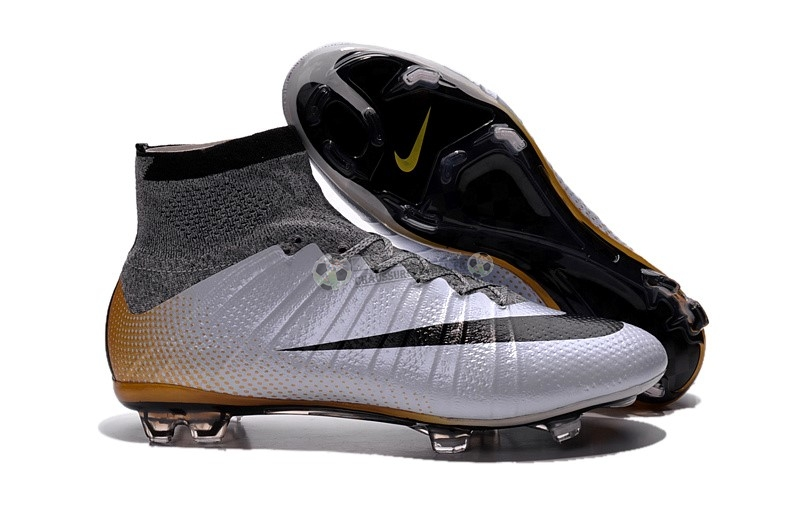 Nike Mercurial Superfly CR7 FG Argent Noir Or