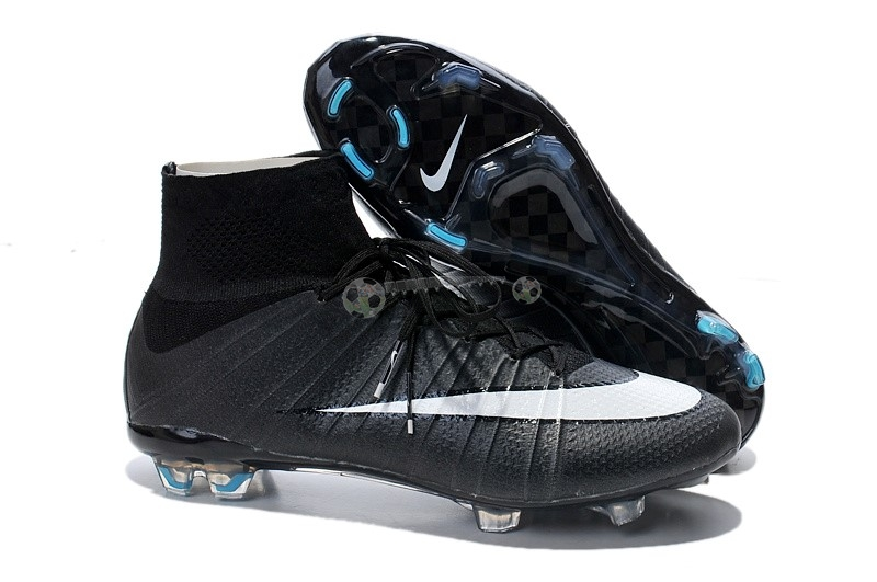 Nike Mercurial Superfly CR7 FG Noir Blanc