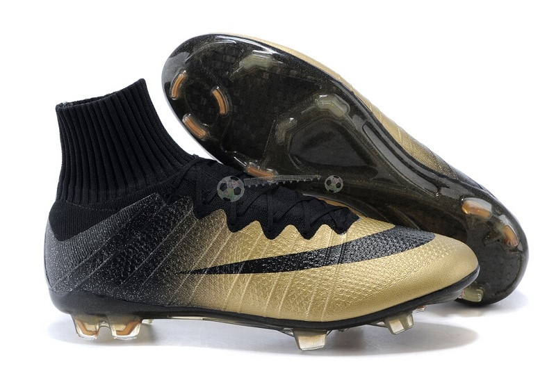 Nike Mercurial Superfly CR7 FG Noir Or