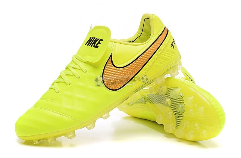 Nike Tiempo Legend VI AG Vert Fluorescent Orange