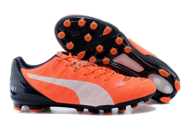 Puma evoPOWER AG Noir Orange Blanc