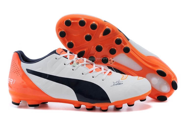 Puma evoPOWER AG Orange Blanc Noir