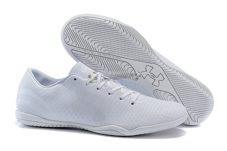Under Armour Clutchfit Force IC Blanc