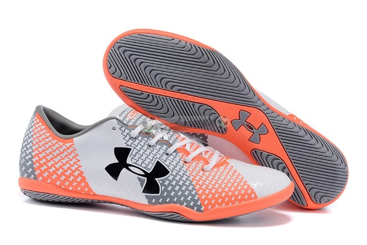 Under Armour Clutchfit Force IC Gris Blanc Rouge