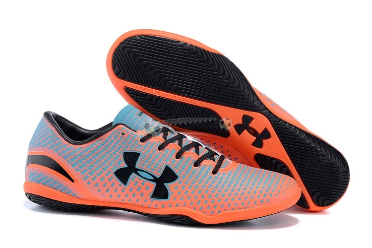 Under Armour Clutchfit Force IC Noir Gris Rouge