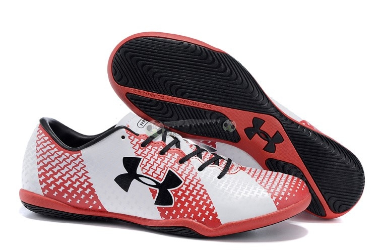 Under Armour Clutchfit Force IC Noir Rouge Blanc