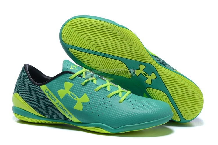 Under Armour Clutchfit Force IC Noir Vert Vert Fluorescent