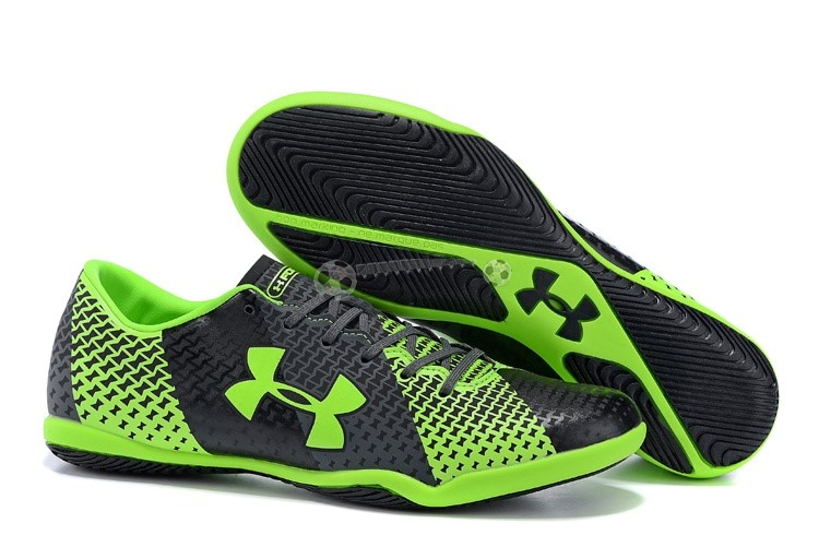 Under Armour Clutchfit Force IC Vert Fluorescent Noir