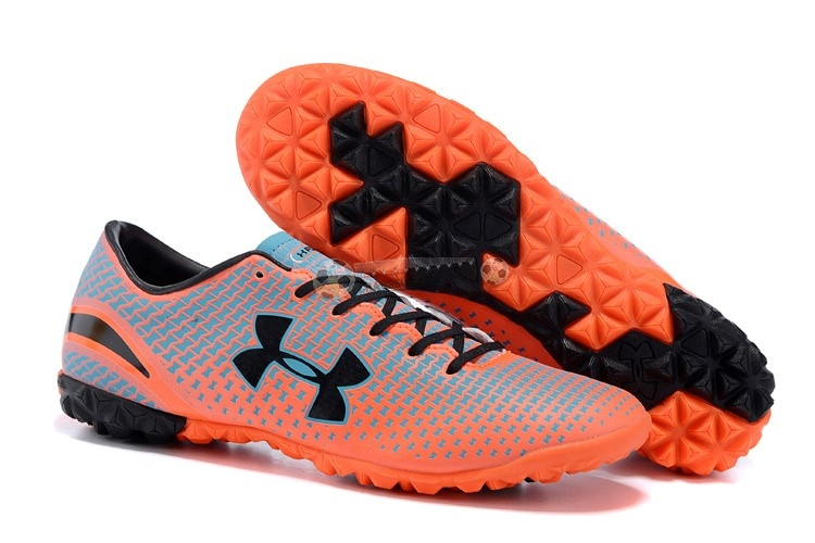 Under Armour Clutchfit Force TF Noir Gris Rouge