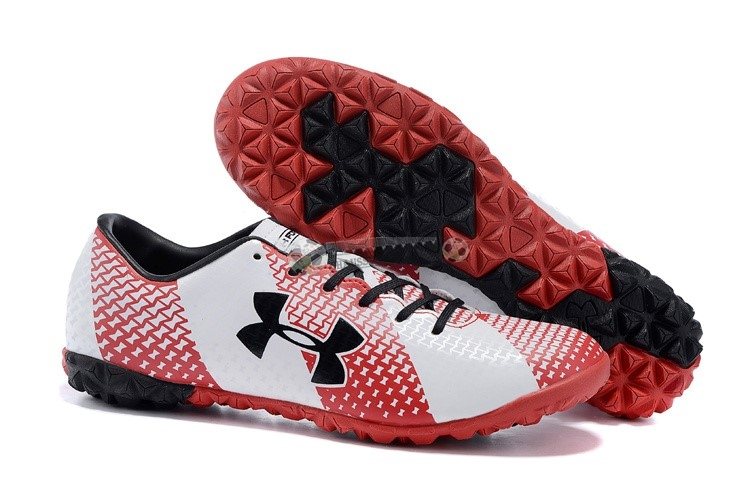 Under Armour Clutchfit Force TF Noir Rouge Blanc