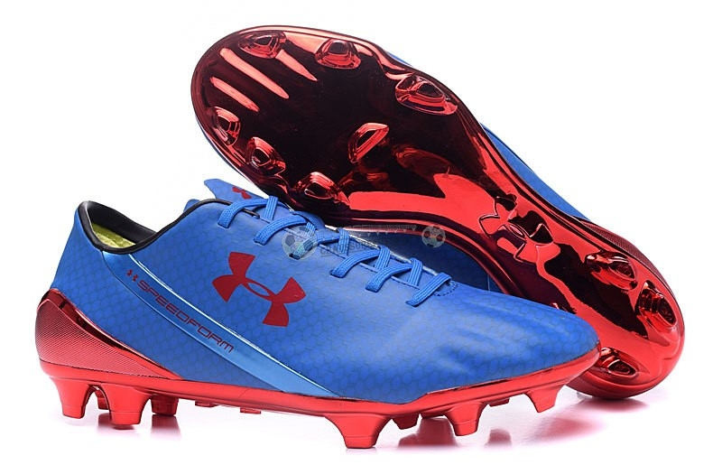 Under Armour Speedform FG Bleu Rouge