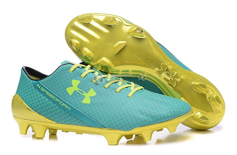 Under Armour Speedform FG Vert Vert Fluorescent
