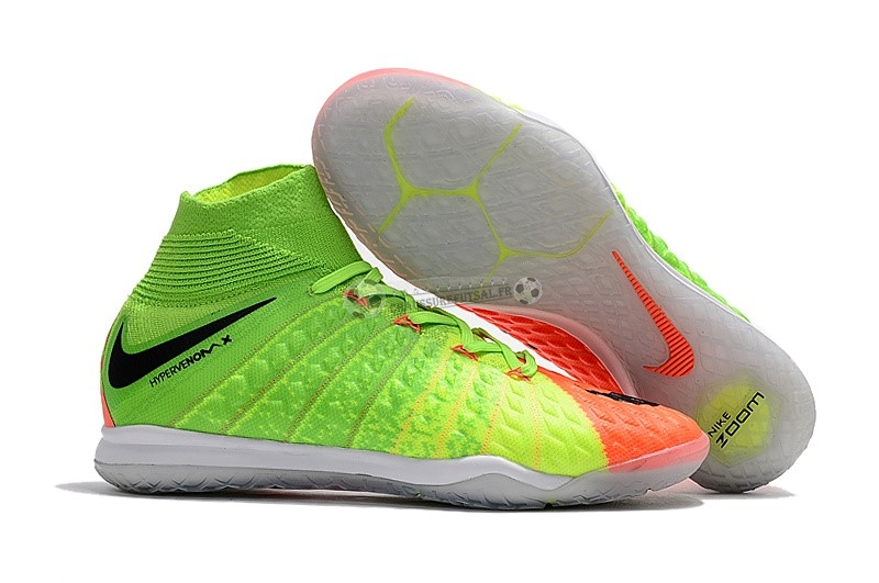Nike HypervenomX Proximo II DF IC Orange Vert