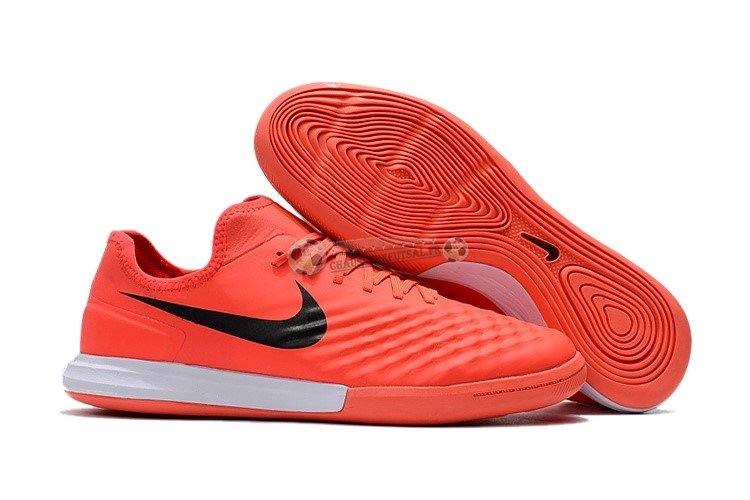 Nike MagistaX Finale II IC Orange Noir Blanc