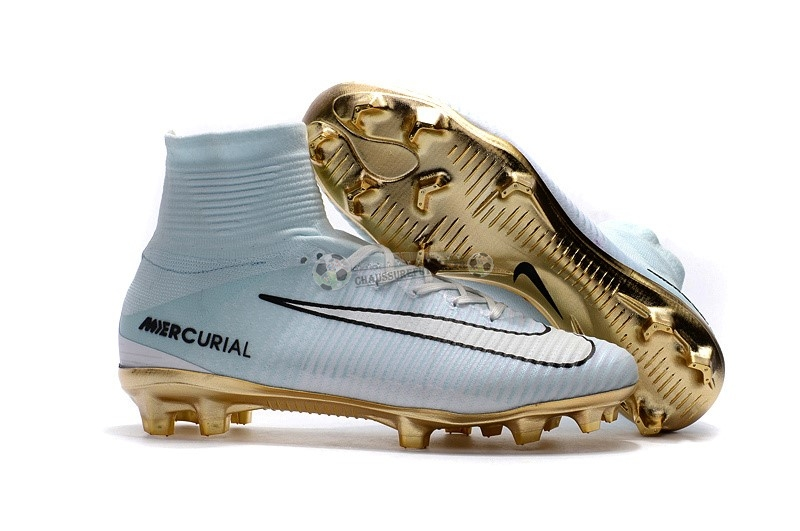 Nike Mercurial Superfly CR7 FG Blanc Or