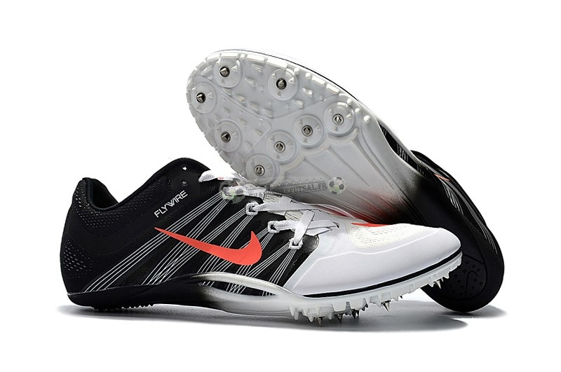 Nike Sprint Spikes Shoes SG Noir Blanc Rouge