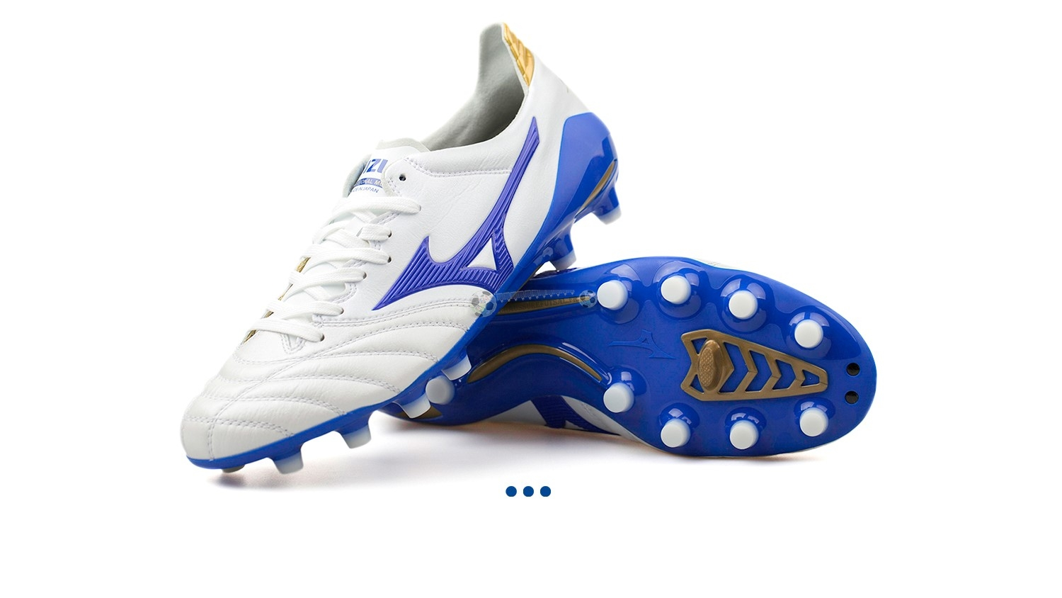 "Mizuno Morelia Neo II JAPAN ""Legend Blue"" MD Blanc"