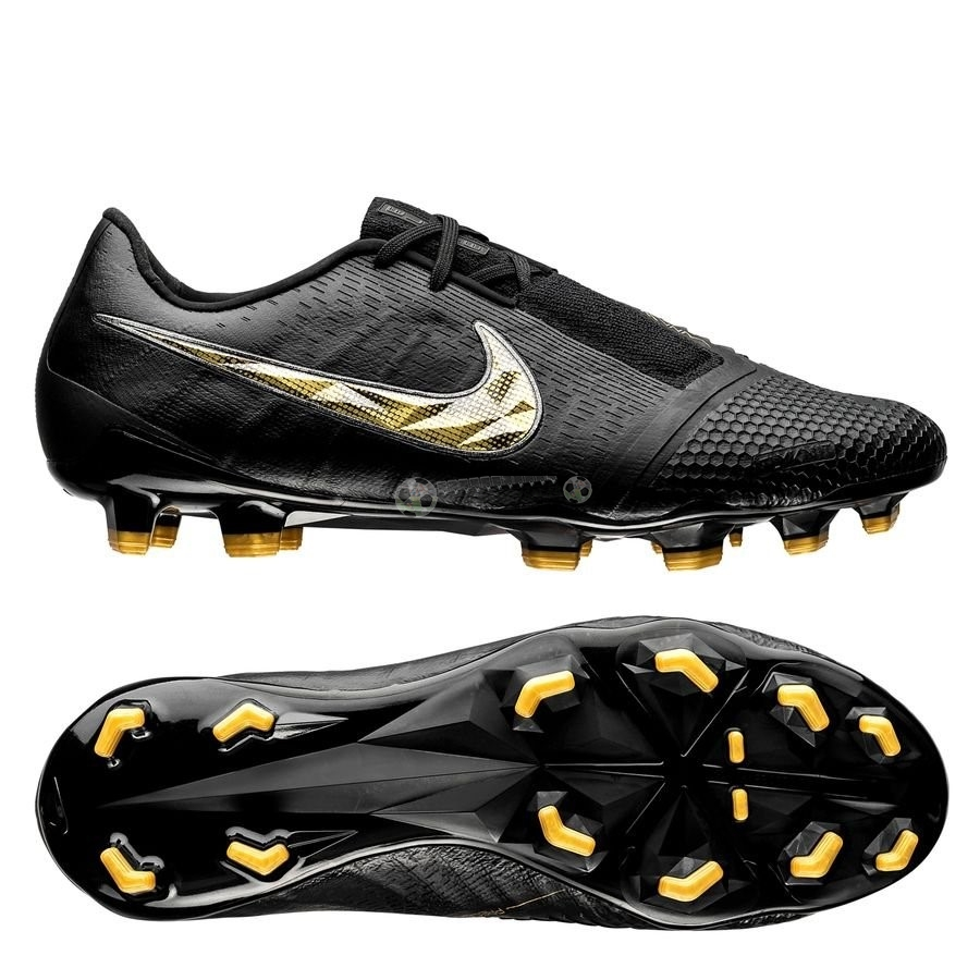 Nike Phantom Venom Elite FG Black Lux Noir Or