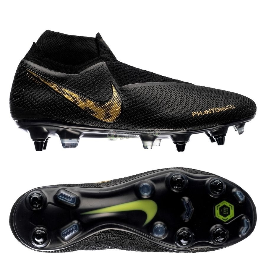 Nike Phantom Vision Elite DF SG PRO Anti Clog Black Lux Noir