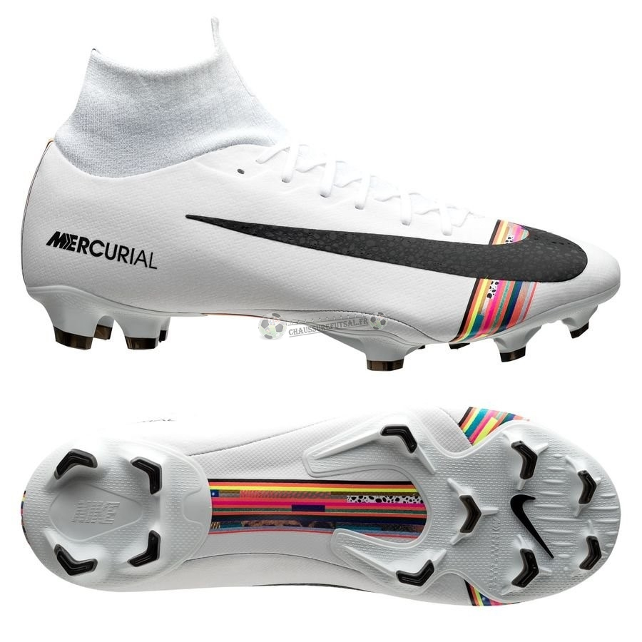 Nike Mercurial Superfly 6 Pro FG LVL UP Blanc