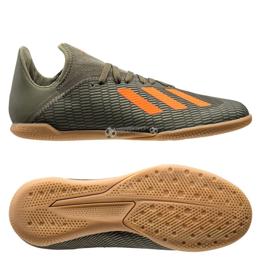 Adidas X 19.3 Enfant IN Encryption Vert