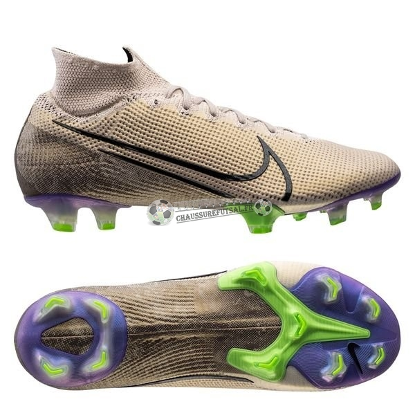 Nike Mercurial Superfly 7 Elite FG Terra Brun