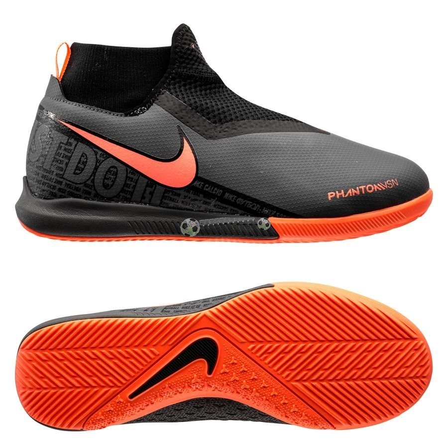 Nike Phantom Vision Enfant Academy DF IC Fire Noir