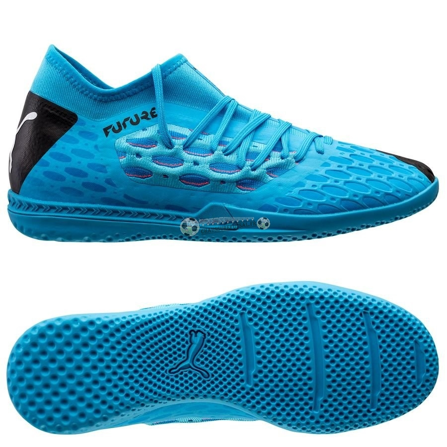 Puma Future 5.3 Netfit IT Flash Bleu