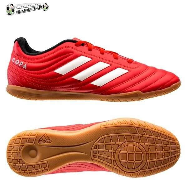 Adidas Copa 20.4 IN Rouge Blanc Noir