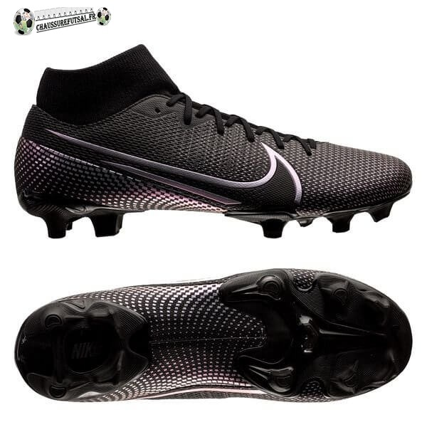 Nike Mercurial Superfly 7 Academy MG Noir