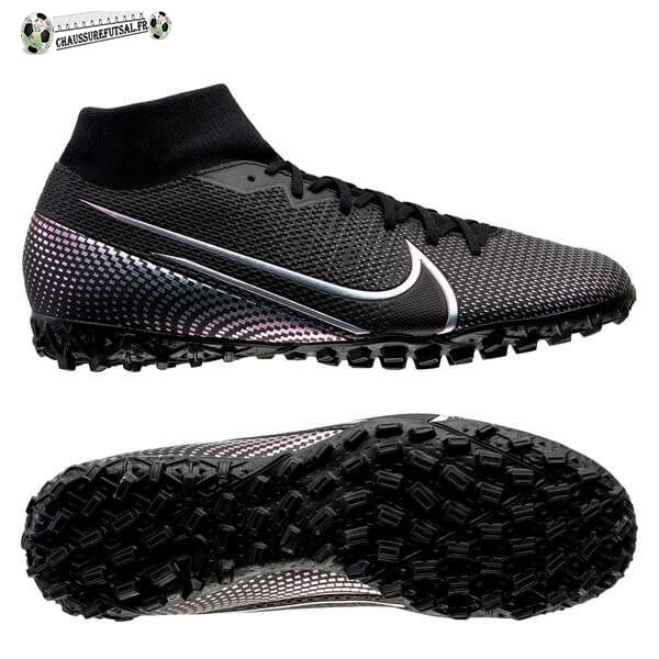 Nike Mercurial Superfly 7 Academy TF Noir